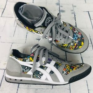 ASICS Onitsuka Tokidoki Ultimate 81 Gray Sneakers